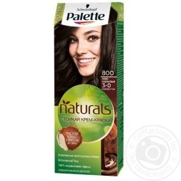 Schwarzkopf Palette Perfect Care Color 800 Deep Dark Brown - buy, prices for Novus - image 1