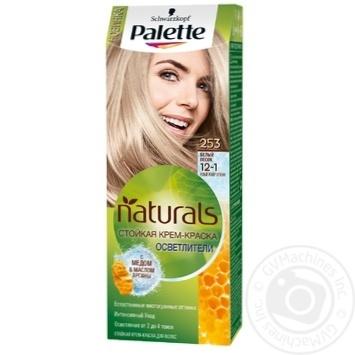 Краска для волос Palette Naturals 12-1 (253) Белый песок 110мл - купить, цены на Novus - фото 1