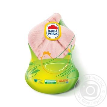 Тушка Наша Ряба цыпленка-бройлера охлажденная (вакуумная упаковка ~ 1,9 кг)