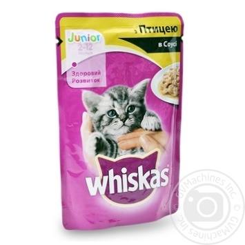 Whiskas With Chicken In Sause For Kittens Food - buy, prices for Furshet - image 5