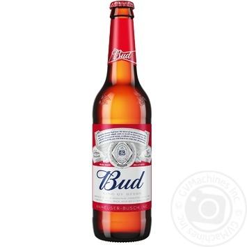 Пиво Bud світле 5% 0,5л - купити, ціни на Novus - фото 1
