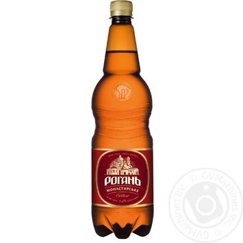Rogan Monastyrske Light beer 1l - buy, prices for Vostorg - photo 1