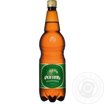 Пиво Рогань Традиционное светлое 4,6% 1л