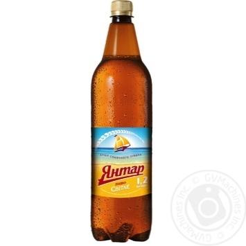 Пиво Янтарь светлое 1л