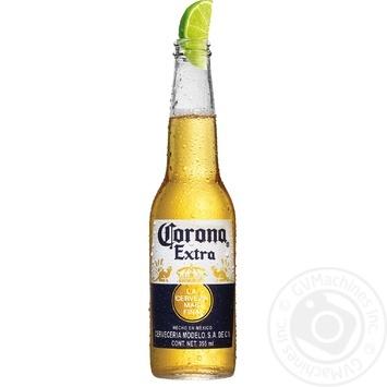 Пиво Corona Extra світле 4,5% 0,355л - купити, ціни на Novus - фото 2