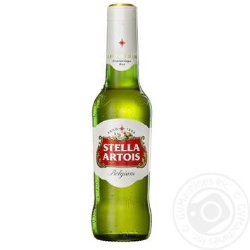Stella Artois Light Beer 5,2% 0,5l - buy, prices for Novus - image 1