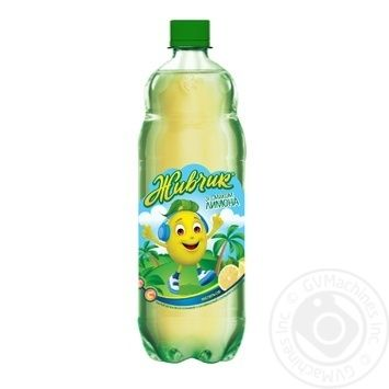 Напиток безалкогольный Живчик со вкусом лимона сокосодержащий сильногазированный 1л