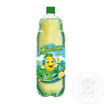 Напій безалкогольний Живчик зі смаком лимон соковмісний сильногазований 2л - купити, ціни на Novus - фото 1