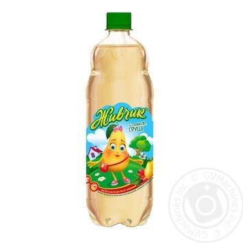 Напиток безалкогольный Живчик со вкусом груши сокосодержащий сильногазированный 1л