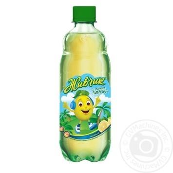 Zhivchik with lemon taste non-alcoholic juice-containing sparkling drink 0,5l - buy, prices for Novus - image 1