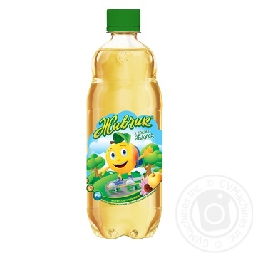 Zhivchik carbonated with apple juice drink 0.5l - buy, prices for Novus - image 2
