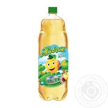 Напиток безалкогольный Живчик с соком яблока соковый сильногазированный 2л - купить, цены на Фуршет - фото 2