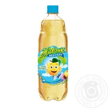 Напиток безалкогольный Живчик с соком яблока соковый негазированный 1л - купить, цены на Novus - фото 1