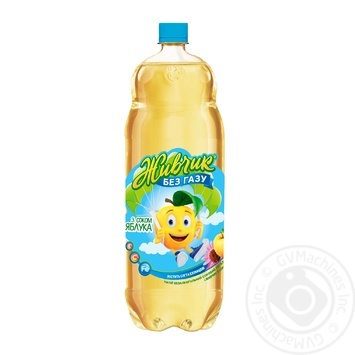 Напиток безалкогольный Живчик с соком яблока соковый негазированный 2л - купить, цены на Novus - фото 1
