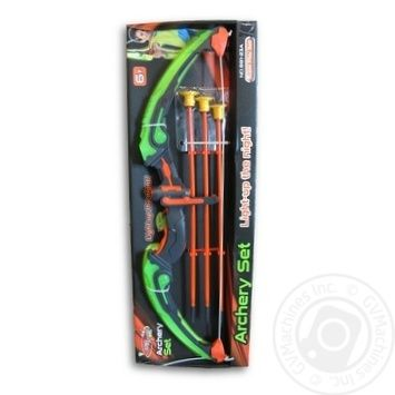 Glowing bow set and arrows Toy - buy, prices for MegaMarket - image 2