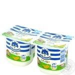 Творожок с бифидобактериями Простоквашино для малышей Банан 3,4% 100г