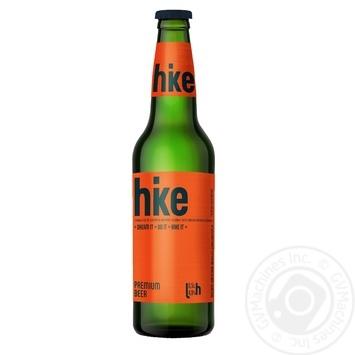 Пиво Hike Премиум светлое 0,5л стекло