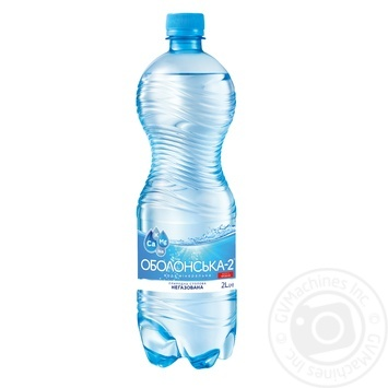 Obolonska-2 Mineral Non-Carbonated Water 2l - buy, prices for MegaMarket - image 1