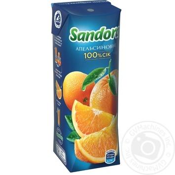 Сок Sandora апельсиновый 250мл