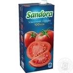 Сок Sandora томатный с солью 2л
