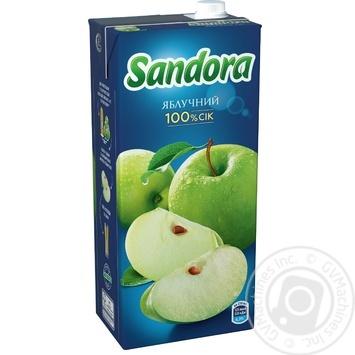 Сок Sandora яблочный 2л