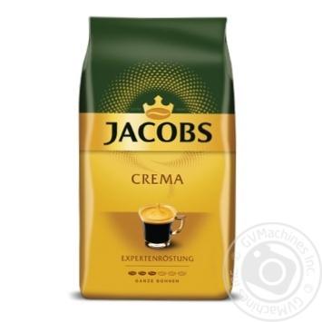 Кофе Jacobs Crema в зернах 500г - купить, цены на Фуршет - фото 1