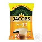 Напиток кофейный Jacobs 3в1 Latte в стиках 56*13г