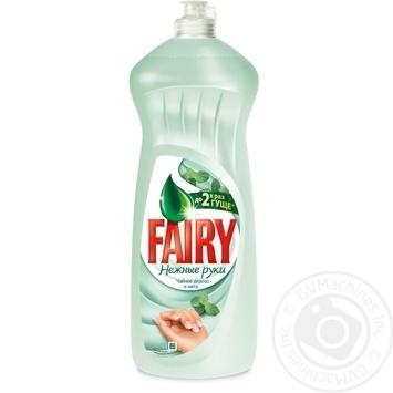 Средство Fairy Чайное дерево и мята для мытья посуды 1л