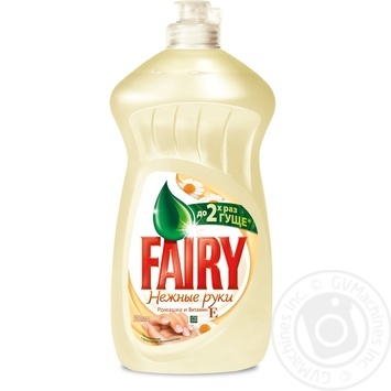 Fairy Chamomile And Vitamіn E Dishwashing Liquid Detergent 500ml - buy, prices for Furshet - image 1