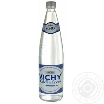 Вода Vichy Celestins минеральная газированная 0,75л - купить, цены на Ашан - фото 1