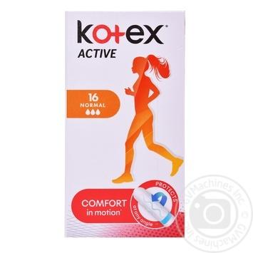 Тампони Kotex Active Нормал 3 крапельки 16шт - купити, ціни на Novus - фото 6