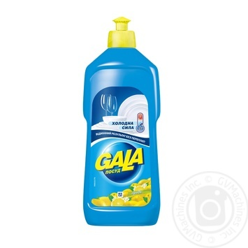 Gala Lemon Dishwashing Liquid 500ml - buy, prices for Furshet - image 1