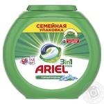Гель жидкий в растворимых капсулах Ariel Горный источник 48шт