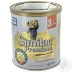 Milk formula Similak 3 dry without palm oil for 12+ months babies 400g
