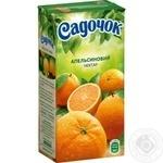 Нектар Садочок апельсиновый 0,5л