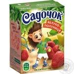 Сок Садочок яблочно-клубничный 0,2л