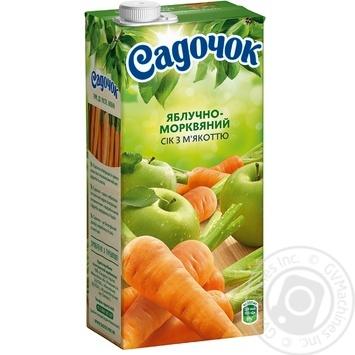 Sadochok apple-carrot juice 0,95l