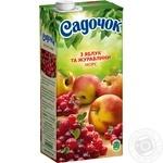 Морс Садочок с яблок и клюквы 0,95л