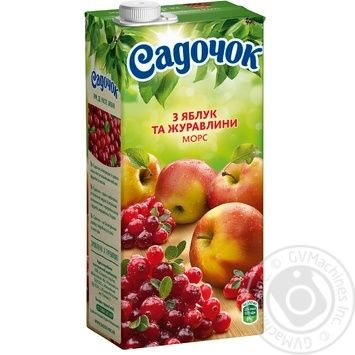 Sadochok apple-cranberry morce 0,95l