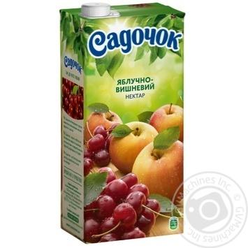 Нектар Садочок яблочно-вишневый 1,93л