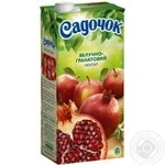 Нектар Садочок яблучно-гранатовий 1,93л