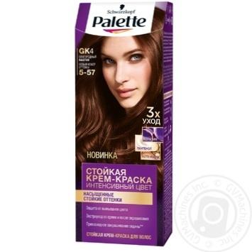 Скидка на Краска для волос Palette интенсивный цвет 5-57 (GK4) благородный каштан 110мл