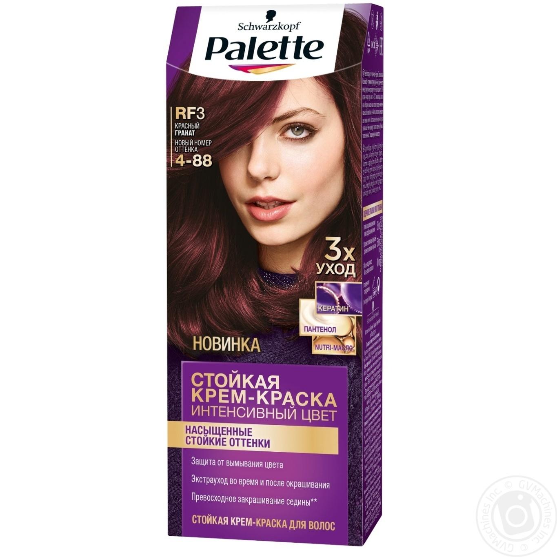 Color Palette Red For Hair Hygiene Hair Care Hair Dye
