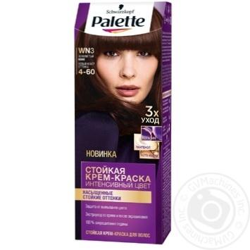 Краска для волос Palette интенсивный цвет 4-60 (WN3) золотистый кофе 110мл