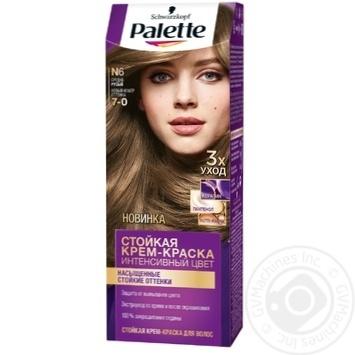 Скидка на Краска для волос Palette интенсивный цвет 7-0 (N6) средне-русый 110мл