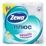 Туалетная бумага Zewa Aqua Tube свежесть океана 2 слоя 184 отрыва 4шт - купить, цены на Novus - фото 1