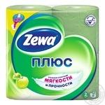 Toilet paper Zewa green 4pcs - buy, prices for Novus - image 1