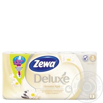 Zewa Deluxe Aroma Spa Toilet Paper 8pcs - buy, prices for Novus - image 1