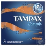 Tampax Compak Super Plus Tampons 16pcs