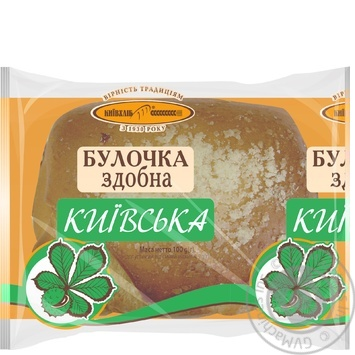 Kyivkhlib Kiev bun 100g - buy, prices for Novus - image 1